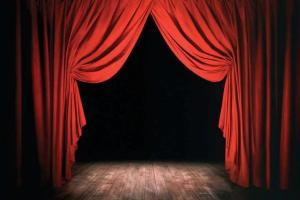 telón de boca y escenario